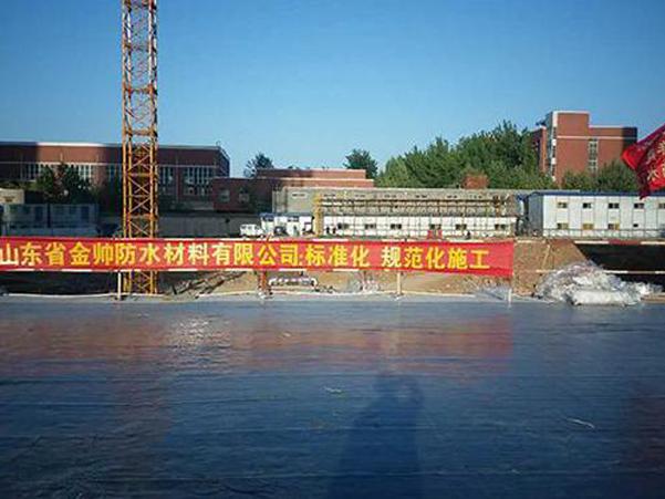 济南龙泉国际广场防水补漏工程选用金旺来防水材料